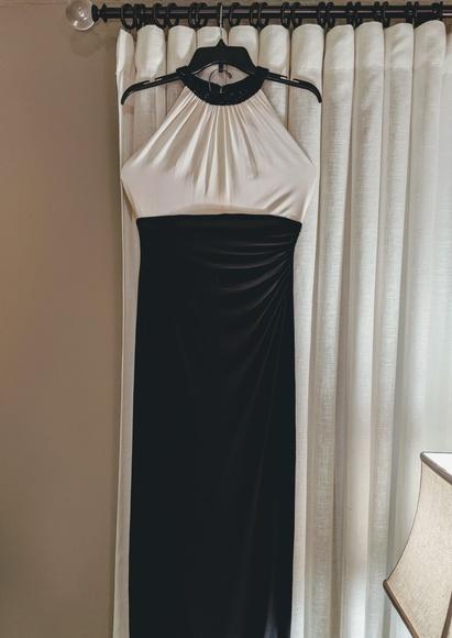 Ralph Lauren Dresses & Skirts - Ralph Lauren Long Dress with Beaded Neckline US 6